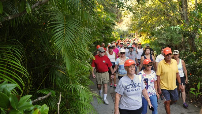 The FLORIDA TODAY Community Walk at the Brevard Zoo in Viera was held Saturday,August 19, at 8:00am.