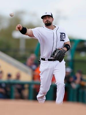 Tigers third baseman Nick Castellanos