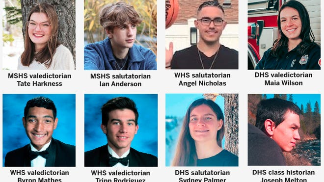 South Siskiyou County valedictorians and salutatorians are preparing for graduation ceremonies this week - whether traditional or virtual.