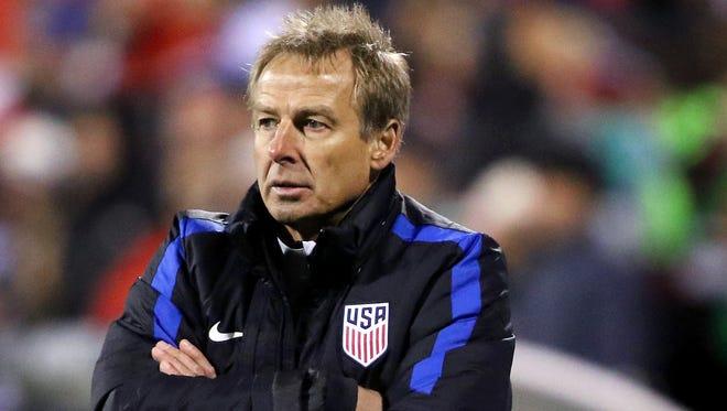 Former USMNT head coach Jurgen Klinsmann.