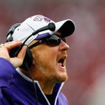 TUSCALOOSA, AL - NOVEMBER 22:  Head coach Mark Speir of the Western Carolina Catamounts yells to his team during the game against the Alabama Crimson Tide at Bryant-Denny Stadium on November 22, 2014 in Tuscaloosa, Alabama.  (Photo by Kevin C. Cox/Getty Images) ORG XMIT: 518726075 ORIG FILE ID: 459427388