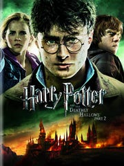 Harry Potter and the Deathly Hallows Part 2, DVD cover.