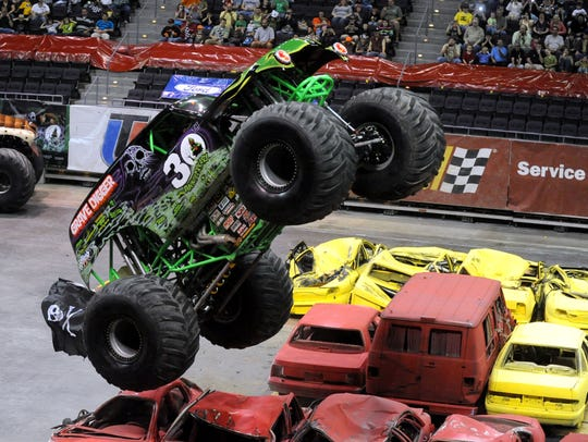 Grave Digger is one of eight monster trucks coming