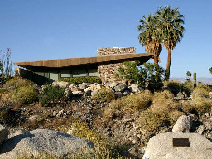 The Edris House in Palm Springs.