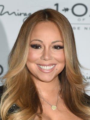 Singer/songwriter Mariah Carey arrives at 1 OAK Nightclub at the Mirage Hotel & Casino on July 26, 2015 in Las Vegas, Nevada.