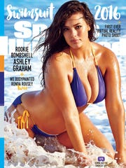 Ashley Graham on the cover of the 2016 Sports Illustrated
