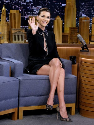 """Ruby Rose visits """"The Tonight Show Starring Jimmy Fallon"""" at Rockefeller Center in New York City."""