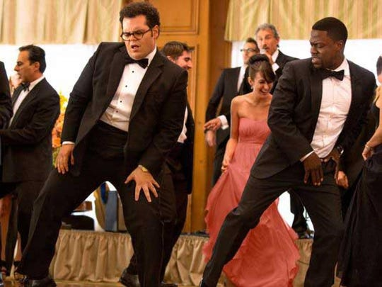 "Josh Gad and Kevin Hart star in the comedy ""The Wedding"