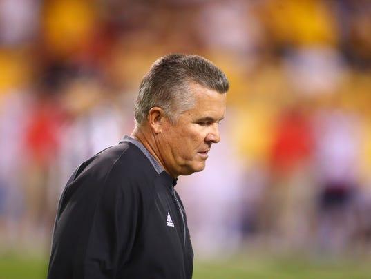NCAA Football: Arizona at Arizona State