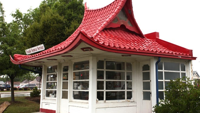 This pagoda-style gas station, designed by Alexander Eschweiler, will be open to visitors as part of Doors Open Milwaukee.