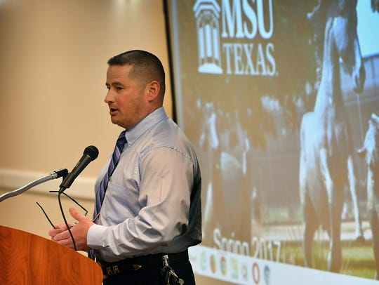Midwestern State University Police Chief Patrick Coggins