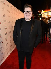 Jordan Smith arrives at Universal Music Group's 2017 Grammy After Party at The Theatre at Ace Hotel on Sunday, Feb. 12, 2017, in Los Angeles.