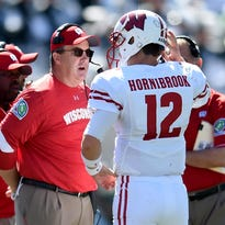 Paul Chryst, and Alex Hornibrook were successful on third down at Michigan State.