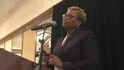 Carla Harwell, a Cleveland internist, tells members