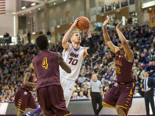 NCAA Basketball: Loyola-Chicago at Northern Iowa