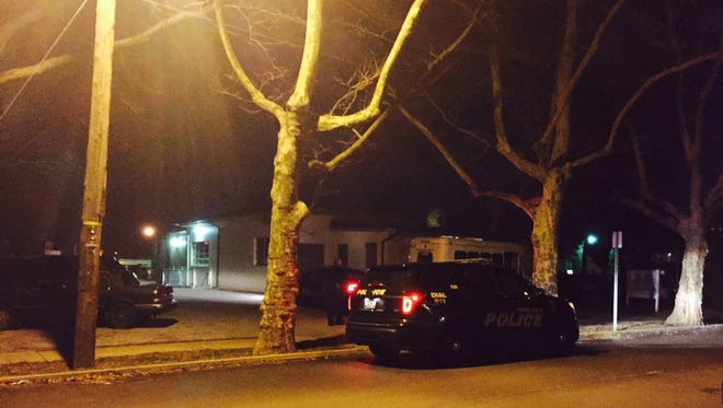 Police are investigating the scene around Abermarle Park in York City after reports of an earlier incident.
