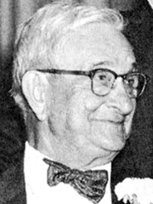 Mid-20th-century York newspaper publisher J.W. Gitt.