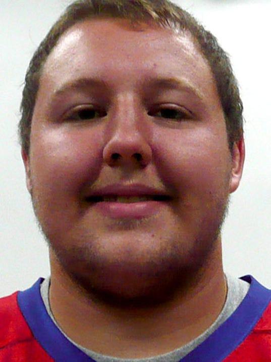 Brock Hartman, offensive lineman
