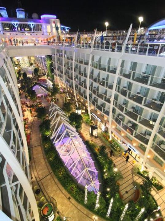 Living Large On Allure One Of The Biggest Cruise Ships - Cruise ship shops