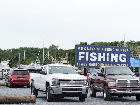 Anglers Fishing Center in Lewes, Del., offers fishing