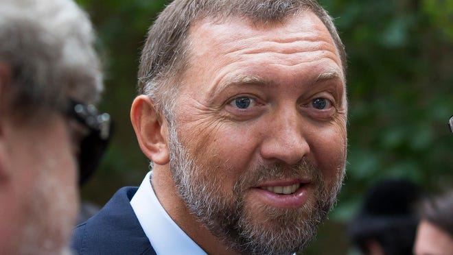 Russian metals magnate Oleg Deripaska. The Senate has narrowly upheld a Treasury Department decision to lift sanctions from three companies connected to Russian oligarch Oleg Deripaska.