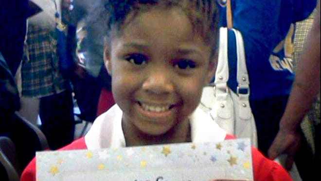 Za'Layia Jenkins, 9, was killed by a stray bullet in May 2016.