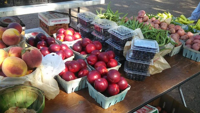 Farmers markets, like the Cane River Green Market in Natchitoches, have been growing across Louisiana and the South to meet the increased demand for fresh, locally grown fruits and vegetables.