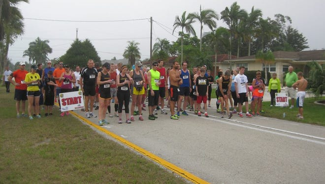 The annual  Run for the Rose Garden 5K takes place Saturday at Rotary Park.