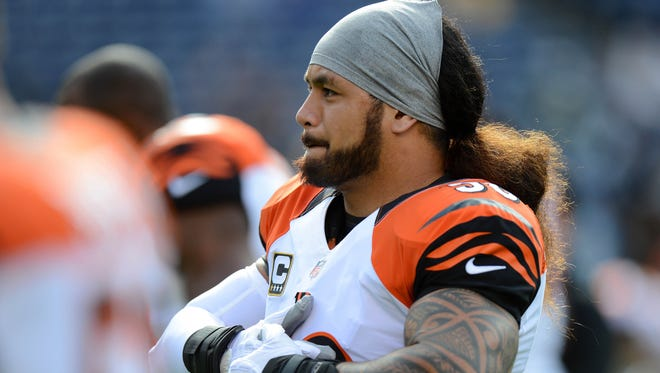 LB Rey Maualuga was the Bengals' second-round pick in 2009.