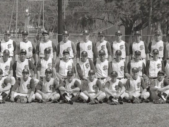 Jim Gurzynski, third from left in back row, signed
