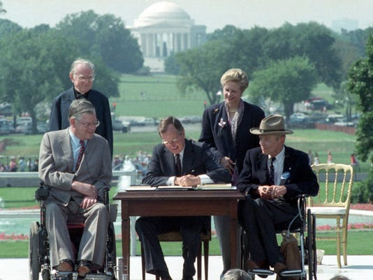 AP DISABILITIES ACT 25 YEARS A FILE USA DC