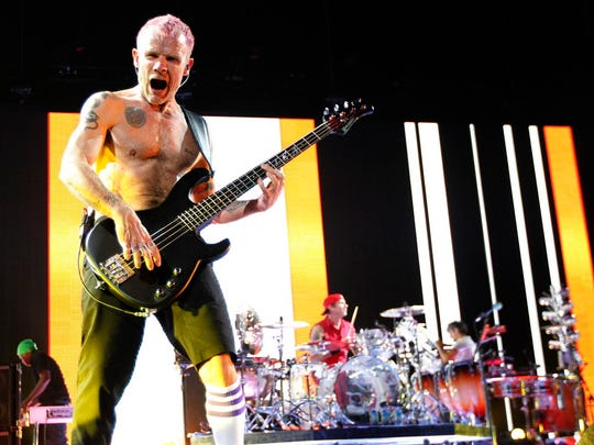The Red Hot Chili Peppers will open Summerfest's 50th