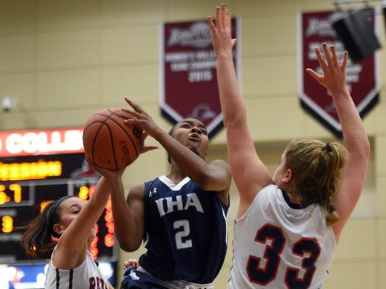 Sophomore forward Jenna Jordan (33) has developed into one of North Jersey's most formidable post players, entering Friday averaging 12.8 points and 12.1 rebounds per game.
