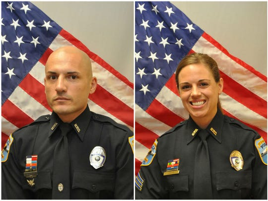 Naples police officers Luis Monroig, 37, and Amy Young, 40, were shot in an apparent domestic dispute at the Estero home they shared. Monroig died from his injuries.