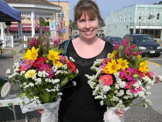 Shannon Schoolman's flowers farmers market.JPG