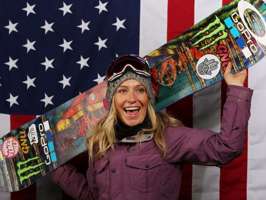 South Tahoe's Jamie Anderson looks to repeat as an
