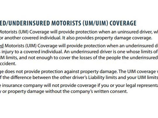 The N.C. Department of Insurance notes that the uninsured