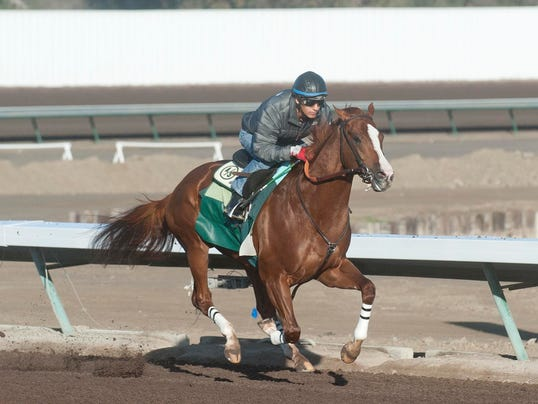 2014-04-04 Victor Espinoza and California Chrome for Jrees story