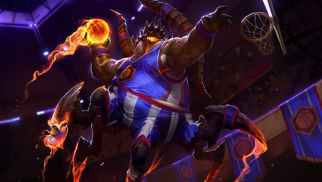 "Azmodan's ""Azmodunk"" skin for Heroes of the Storm."