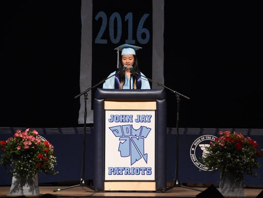 John Jay High School Class of 2016 Salutatorian Isabel