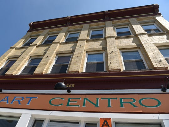 A view of Art Centro, one of Roy Budnik's other preservation projects on Main Street in the City of Poughkeepsie.