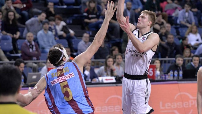 Nate Wolters playing in Turkey