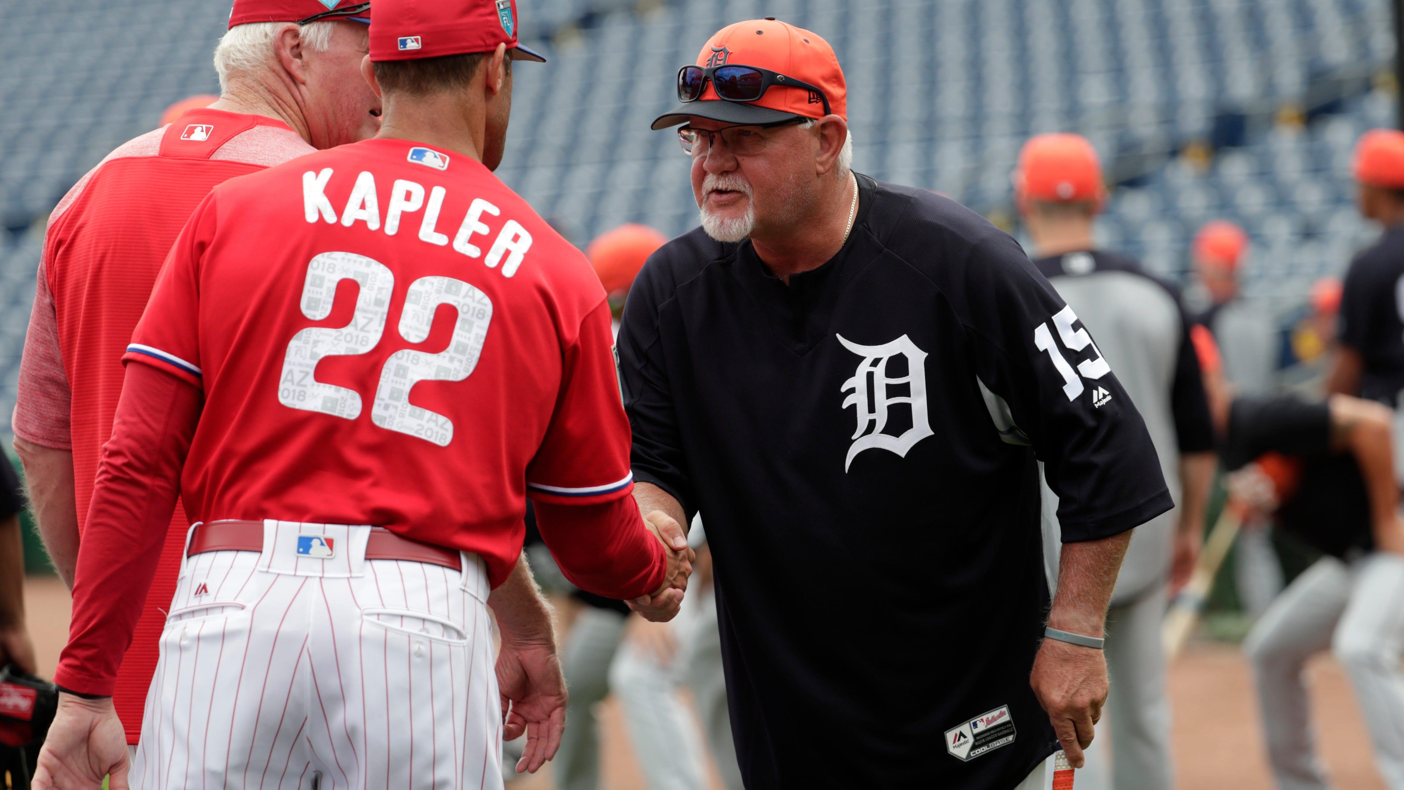 Collection Here Gabe Kapler Detroit Tigers Auto American League Baseball Autographs-original