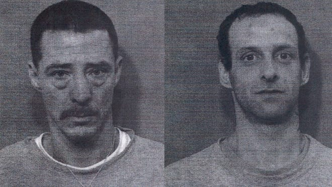 Joseph Cheatwood (left) and Dustin Chelette