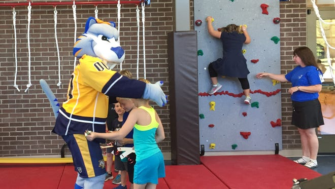 The Donelson-Hermitage Family YMCA celebrated its 45th anniversary with a new Adventureland room for children, expanded fitness areas and more.
