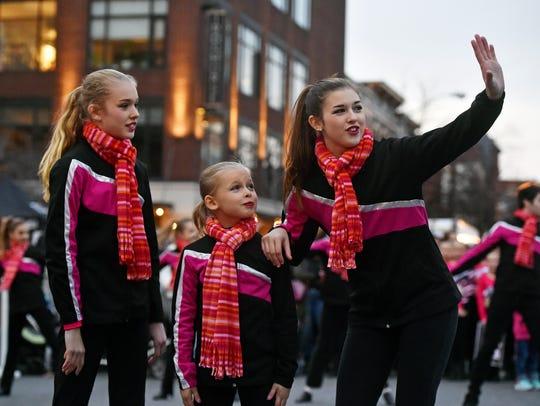 From left, Greater York Dance Center for Education