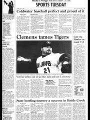 Battle Creek Sports History - Week of May 7, 1997