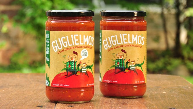 Guglielmo's sauces are made in Bergen, Genesee County.