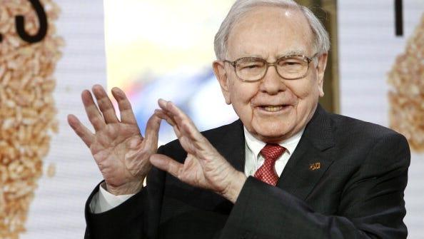 "Warren Buffett on NBC News' ""Today"" show in October."