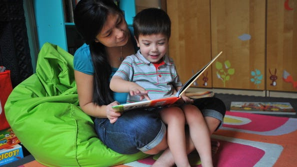 Reading books is invaluable to children's success.